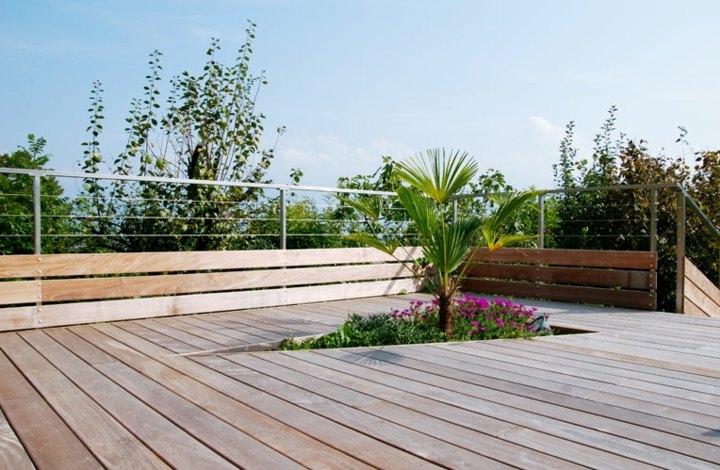 terraza suelos jardinera espacio conceptos