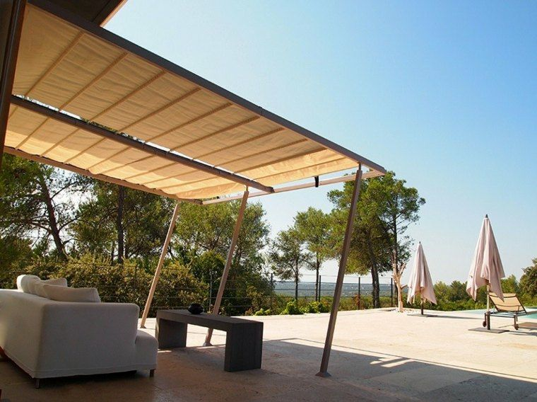 Tipos de toldos para patios dsc with tipos de toldos para patios tipos de toldo para terraza o - Toldos para patios interiores ...