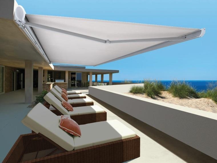 tipos de toldos opciones terraza diseno nicholls furnishings ideas