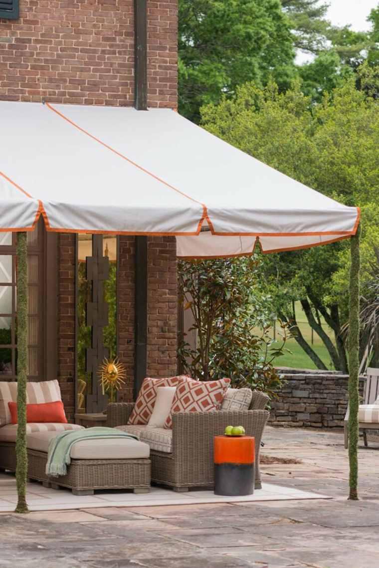 Toldos para patios exteriores ideas de disenos for Toldos para patios