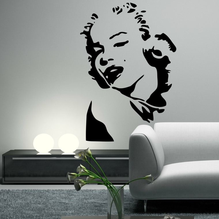 Vinilos para pared para decorar vuestros interiores -