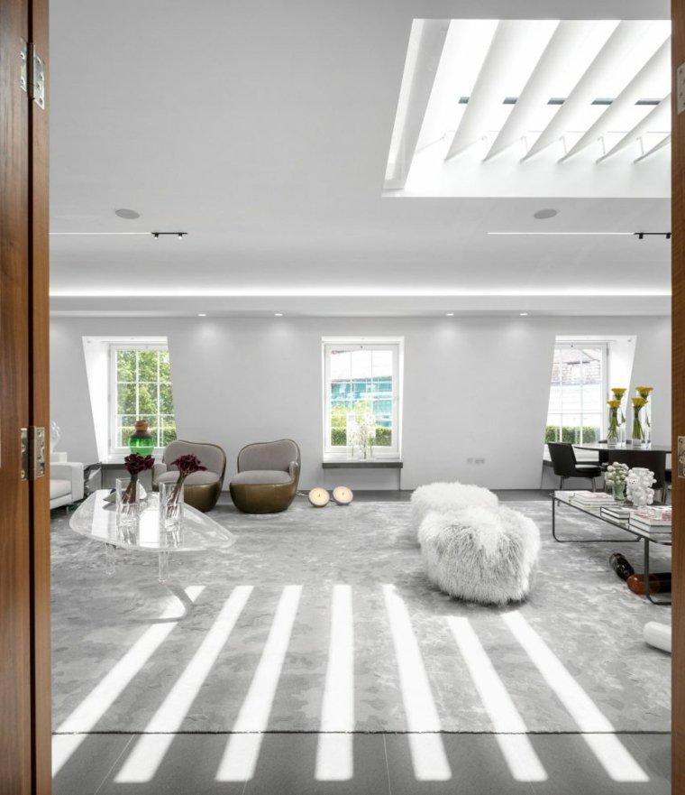 vivienda entradas muebles salones colores