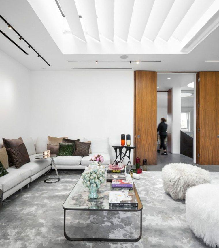 vivienda madera conceptos salones estilos