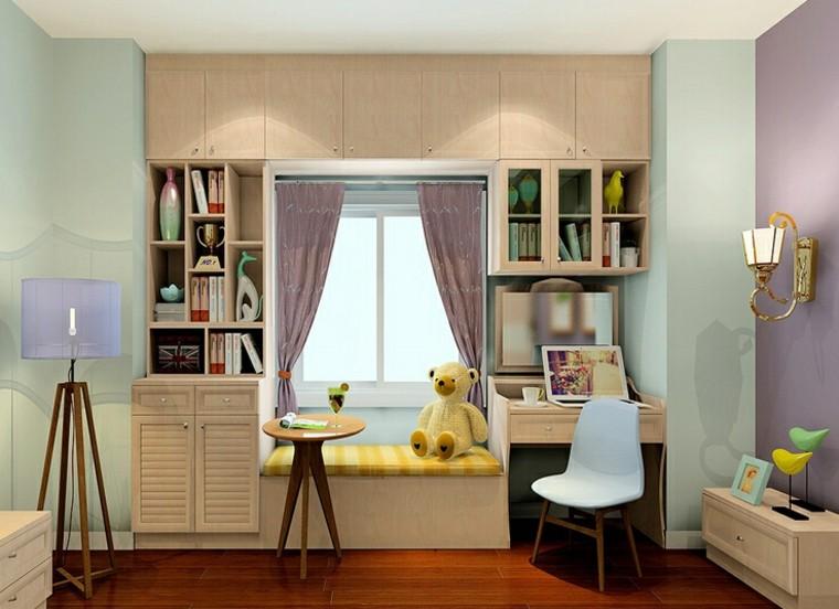 vivienda orden infantil habitacion lamparas