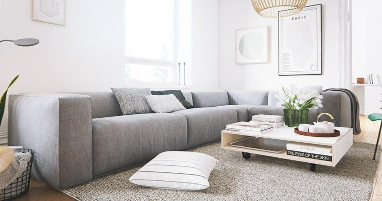 vivienda orden muebles conceptos almohadas
