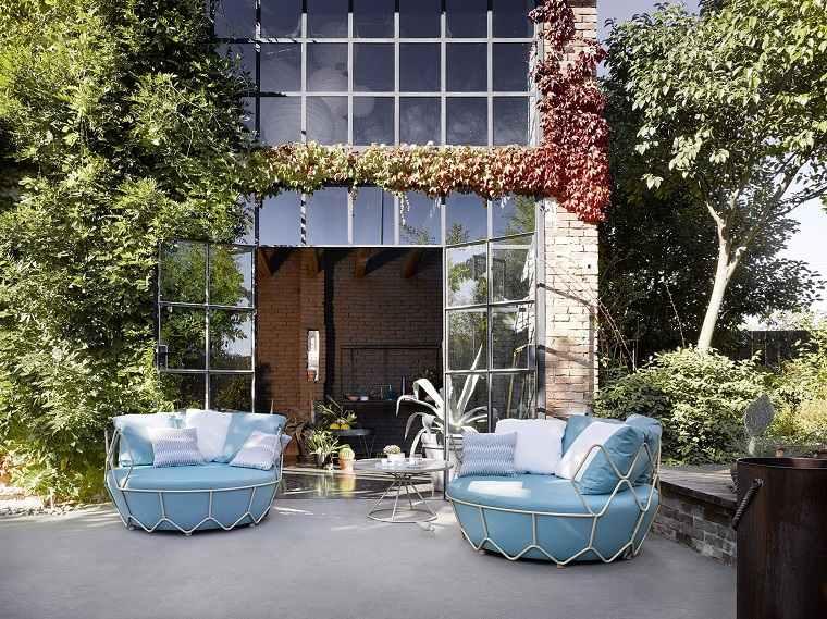 GRAVITY Sofa diseno original exteriores modernos ideas