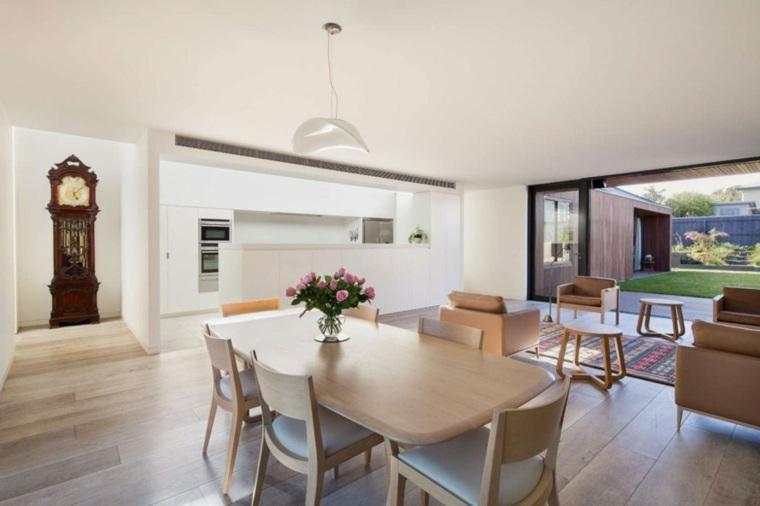 La casa modesta diseñada Coy Yiontis Architects salón ideas