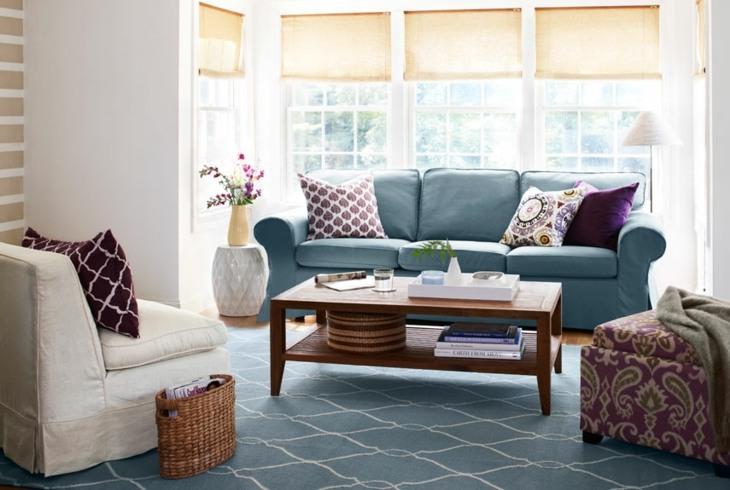 acentos purpura espacio salon casas