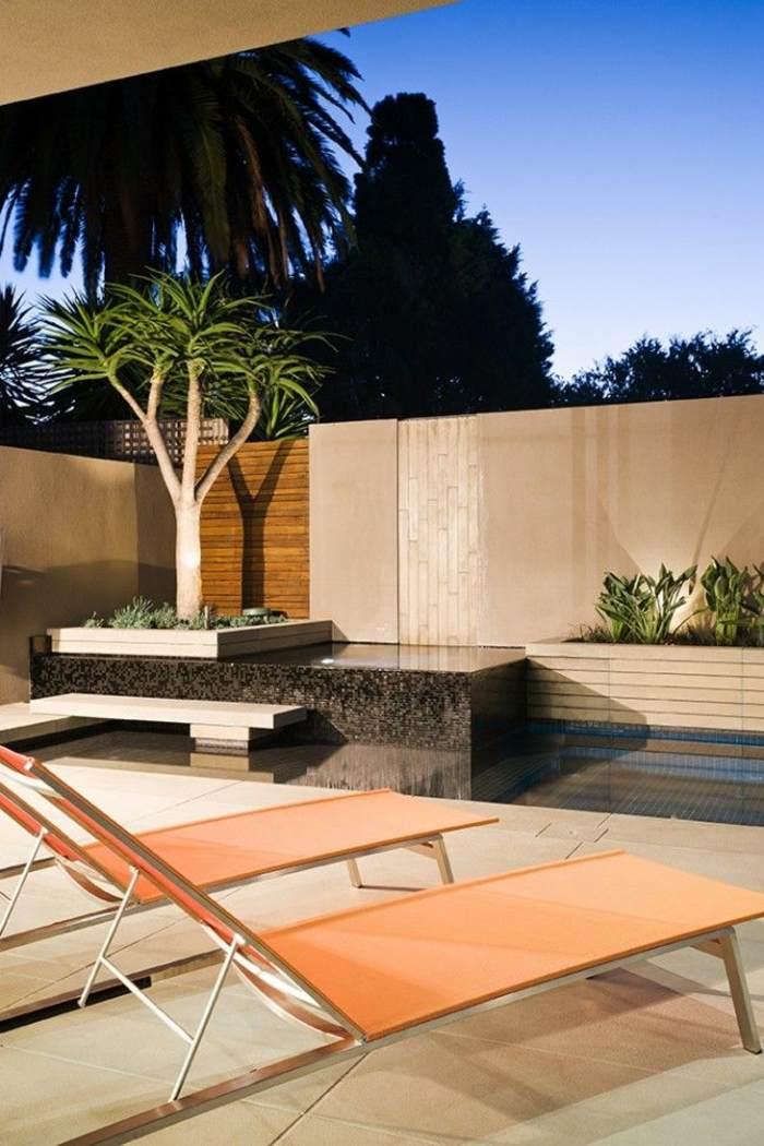 acogedor moderno especial diseño piscina