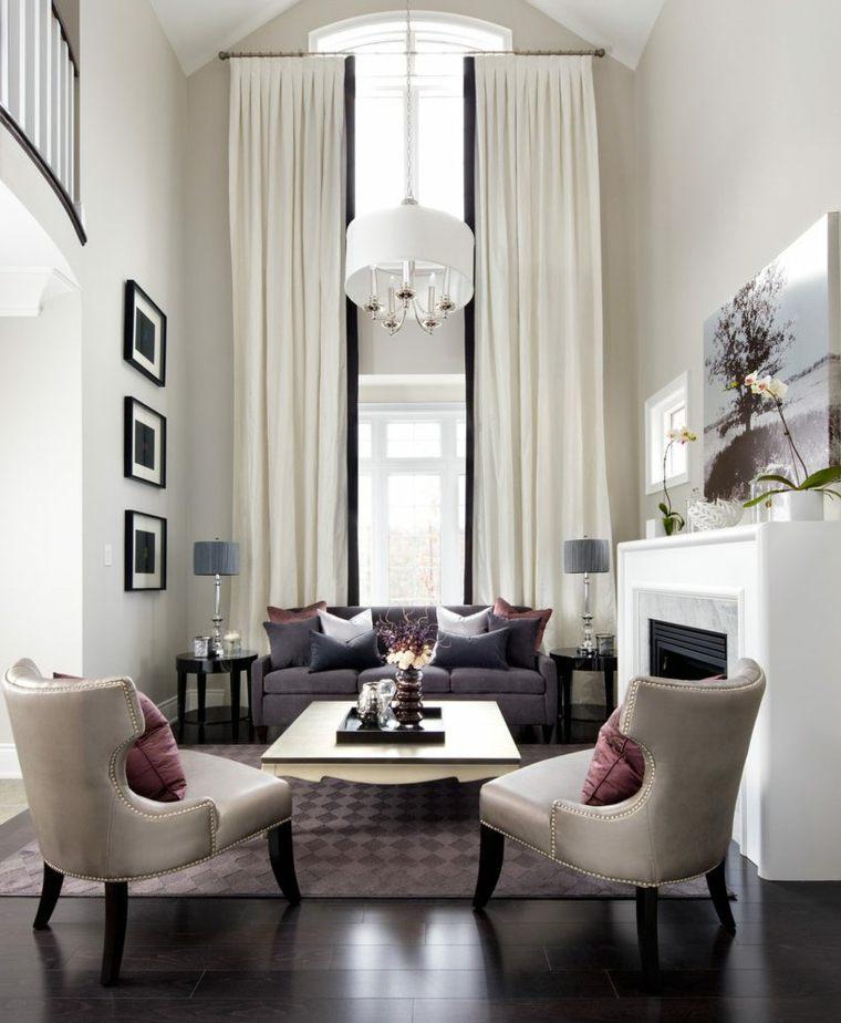 altas cuboertas salones muebles clasicos