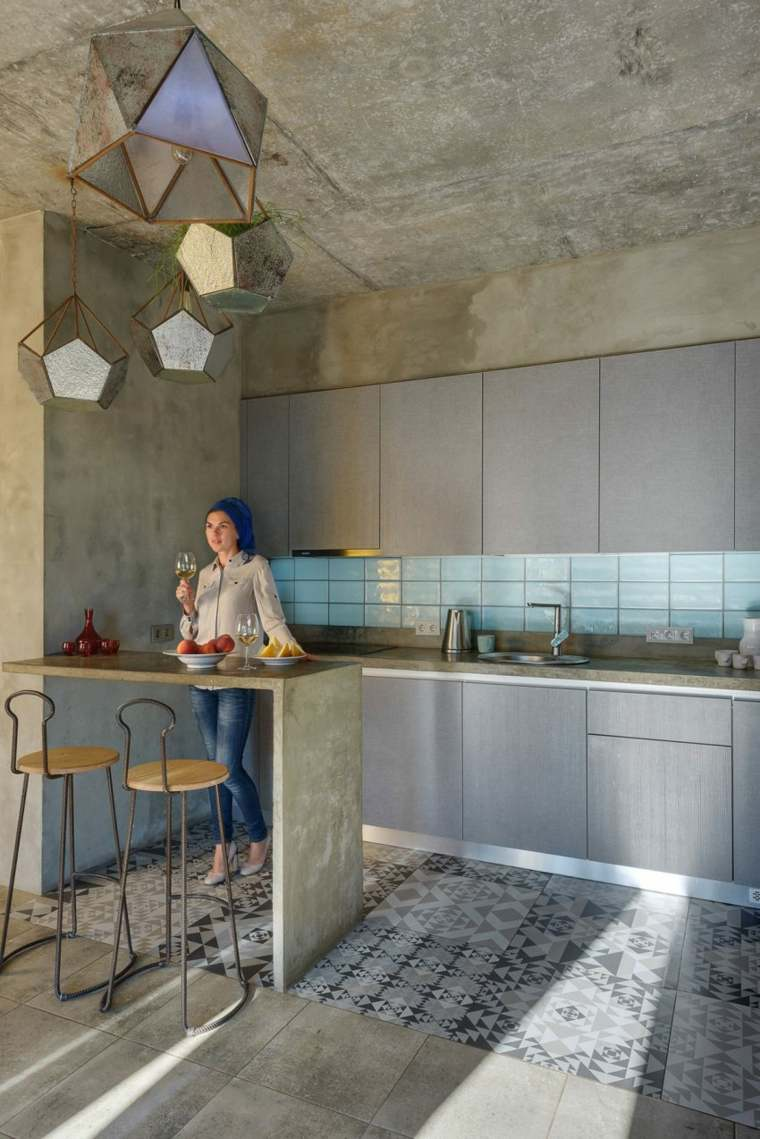 ambiente fresco cocina moderna cabillas
