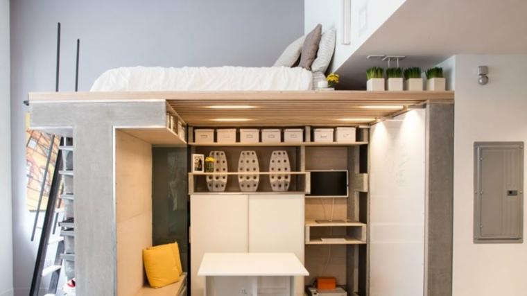 apartamento loft pequeño muy funcional