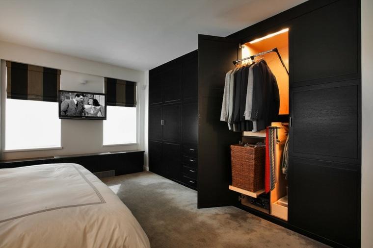 armario empotrado luces interiore roperos