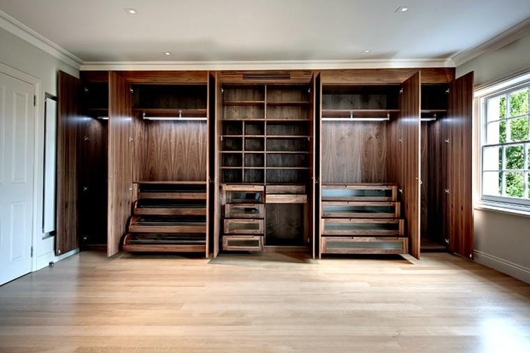 armario empotrado madera especiales escalones