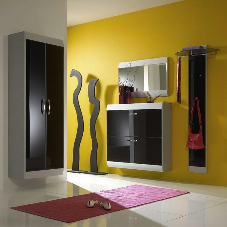 armarios recibidor colores