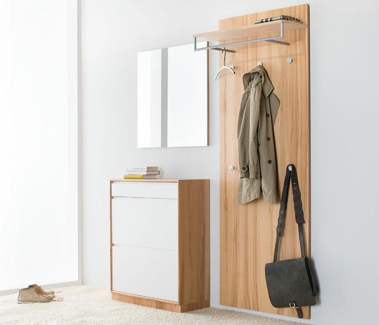 armarios recibidor elegante