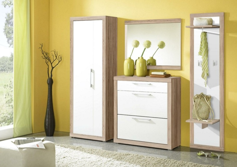 armarios recibidor elegantes