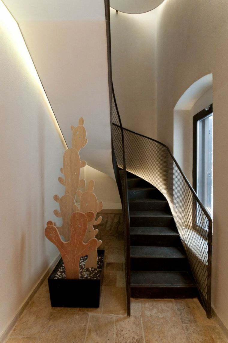 arquitectura ideas escalera metalica plantas