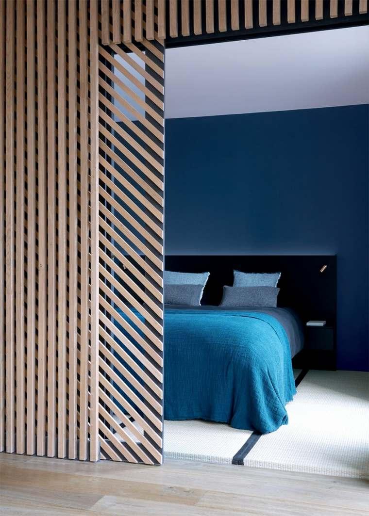 muebles cocinas led separadores ambientes colores