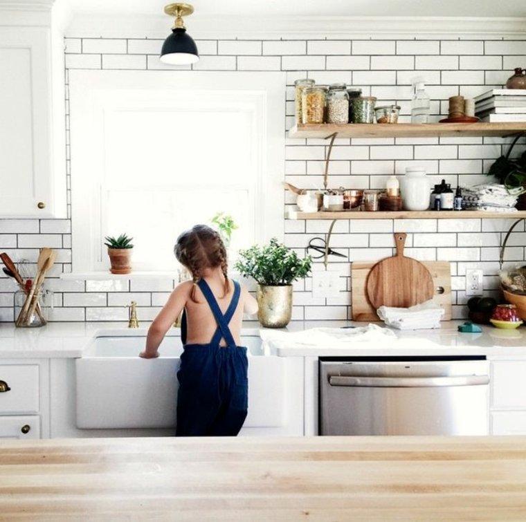 azulejos cocina color blanco