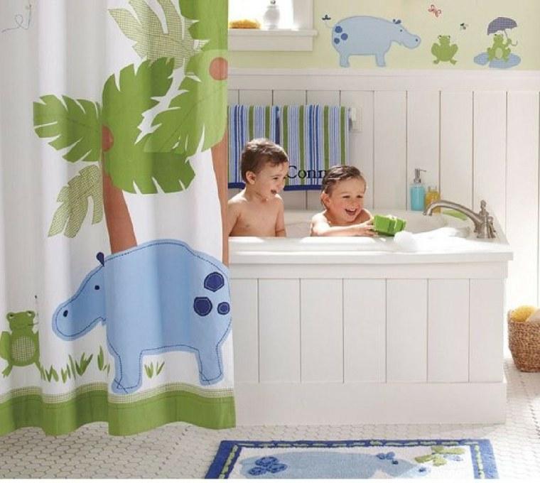 baños infantiles colores divertidos