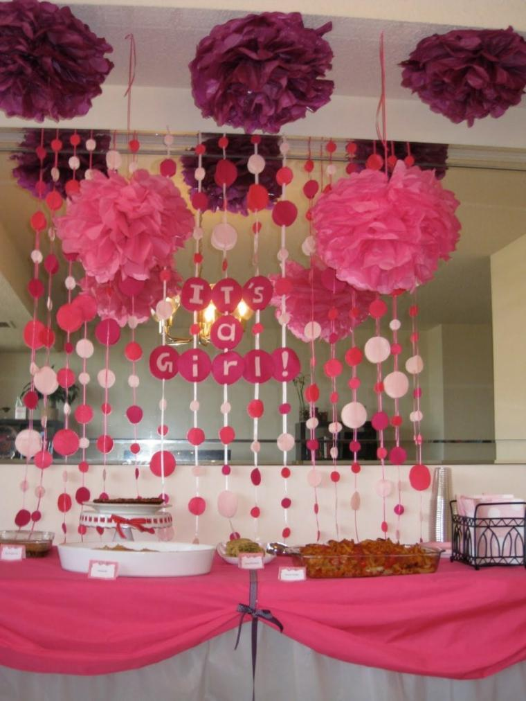 Decoracion baby shower ni a 24 ideas estupendas for Baby shower dekoration