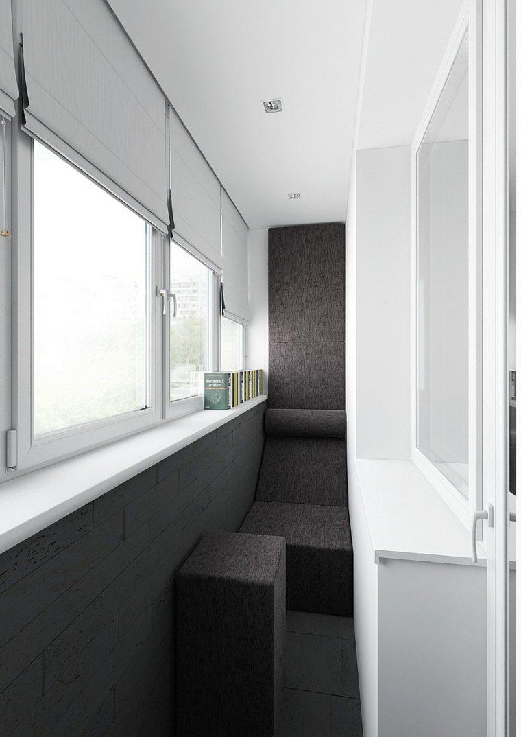 balcones decoración moderna elegante