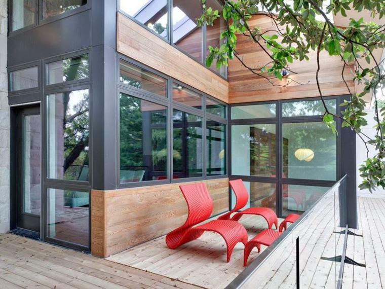 balcones decoración moderna
