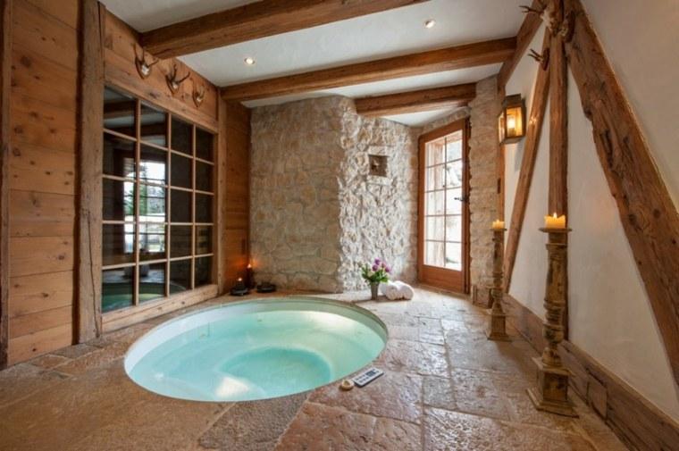 baños antiguos decoración interior