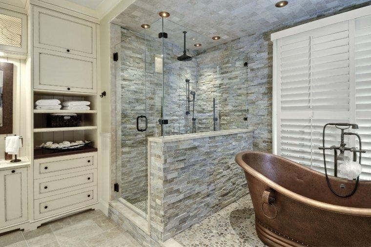 baños antiguos decorar interiores