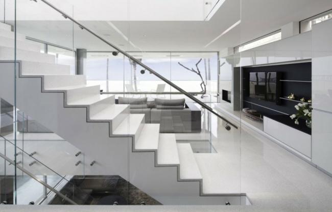 Barandillas Creativas Que Destacan Los Disenos De Las Escaleras - Barandas-escaleras-modernas