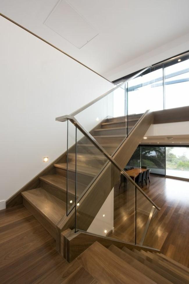 Barandillas creativas que destacan los diseños de las escaleras
