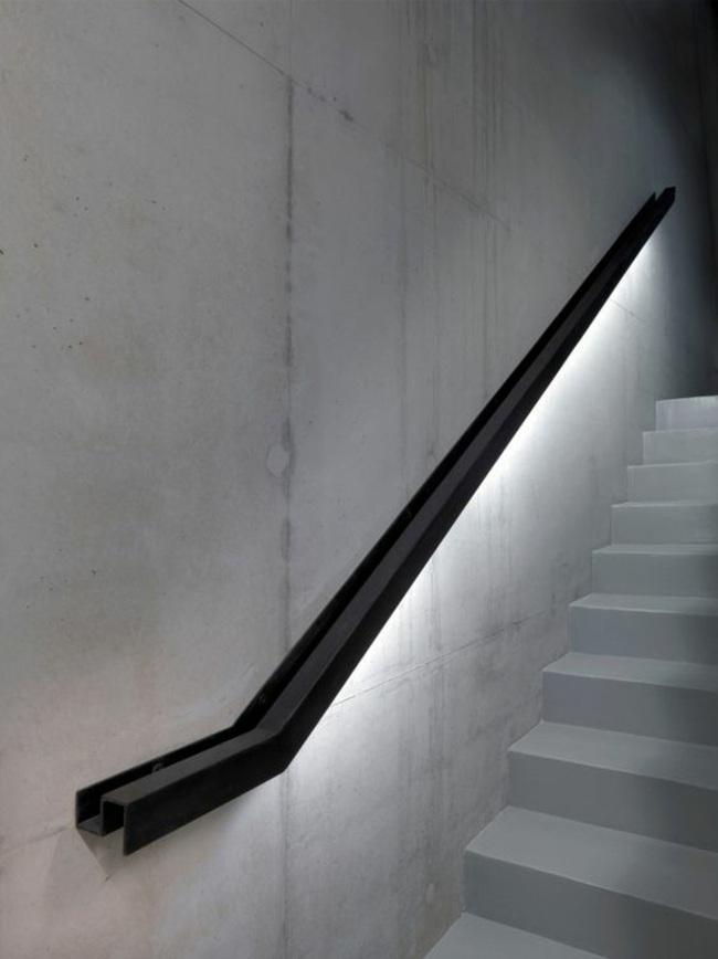 barandillas metalica luces led salones