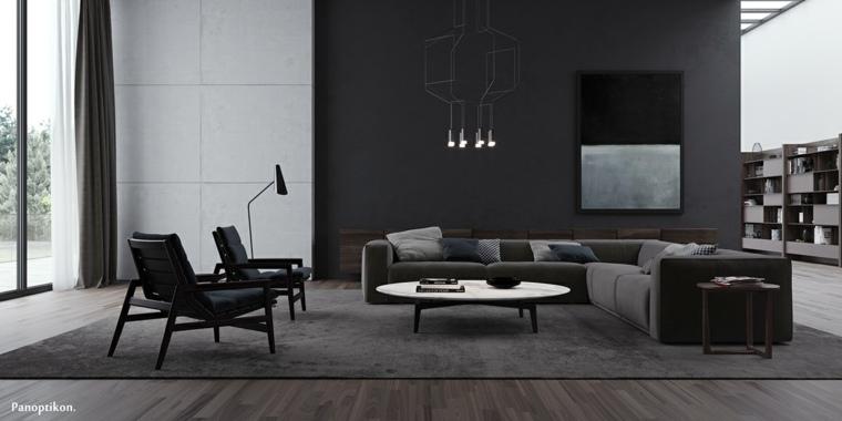 bello modelo minimalista especial sala