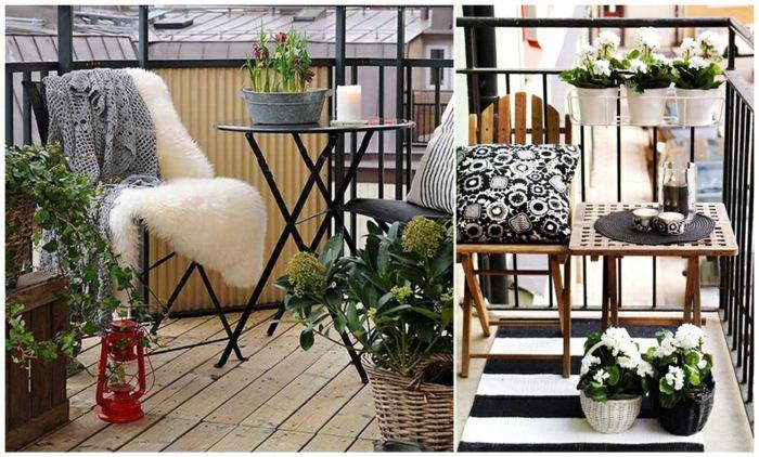 decorar balcon estrecho consejos y soluciones econ micas. Black Bedroom Furniture Sets. Home Design Ideas