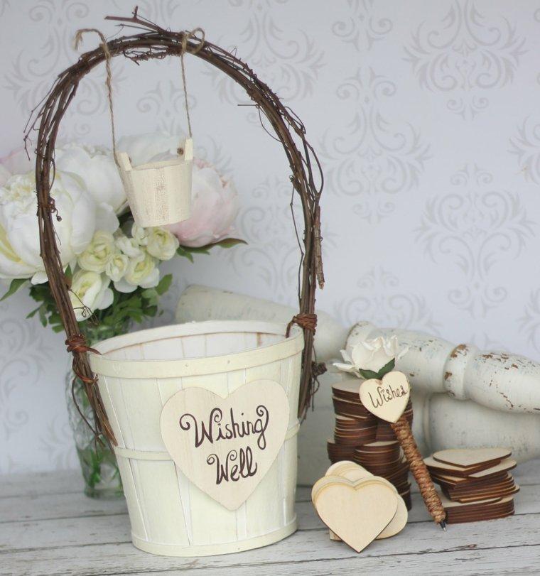 boda rústica decorar interior