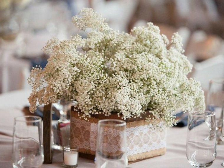 boda rústica decorar mesa