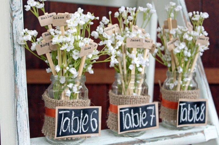 bodas rústicas decoración