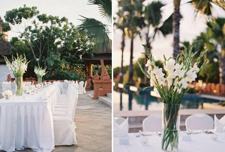 bodas sencillas decoracion blanco bodas aire libre ideas