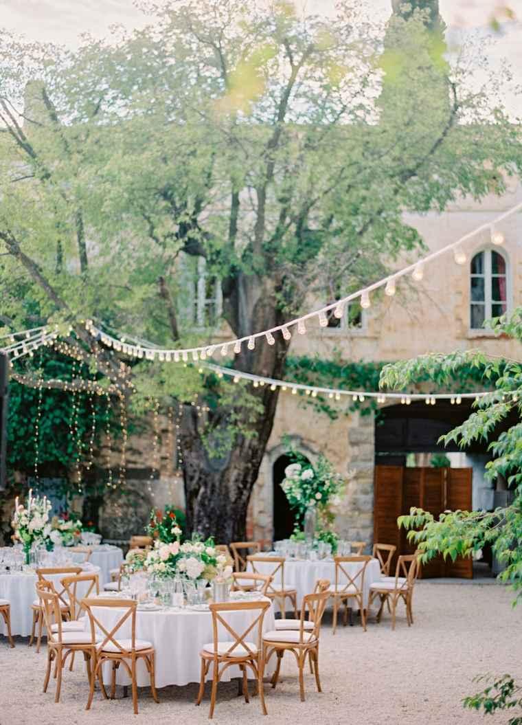 bodas sencillas decoracion estilo bodas exterior ideas