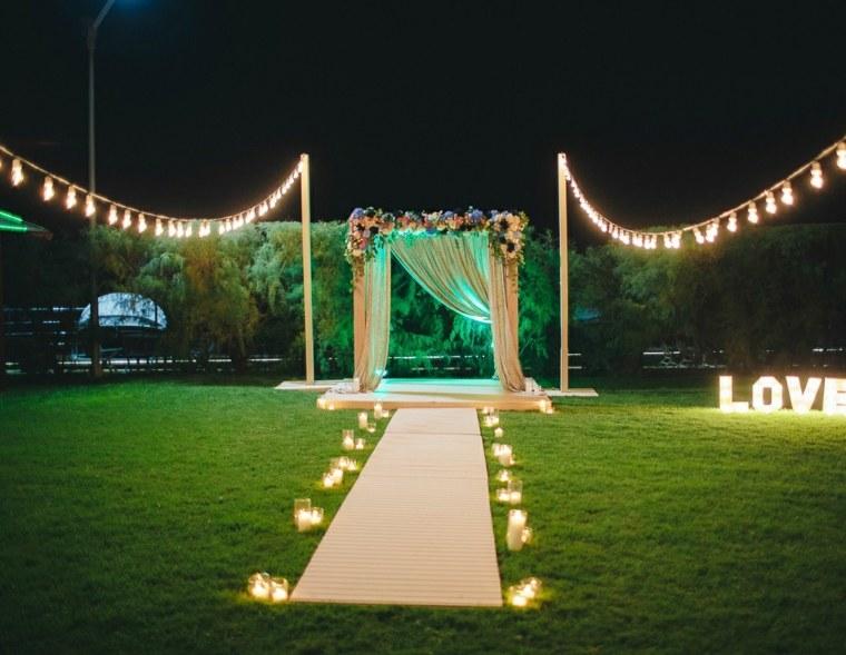 bodas sencillas decoracion lugar casamiento ideas