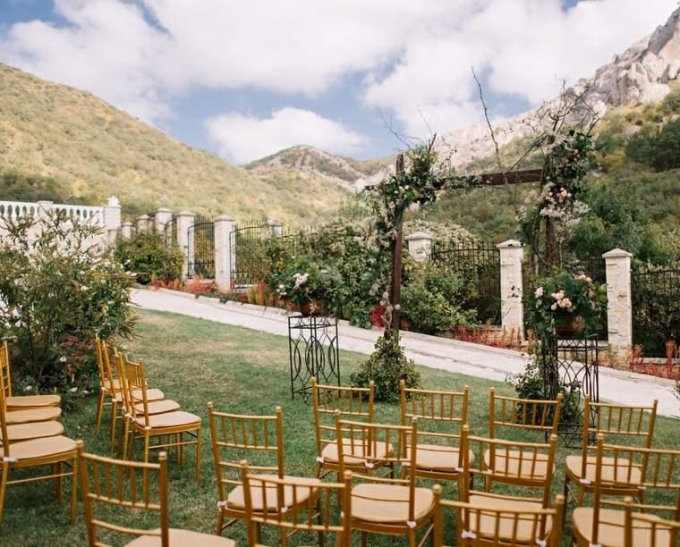 bodas sencillas decoracion natural plantas diseno ideas