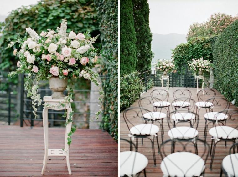 bodas sencillas decoracion romantica moderna ideas