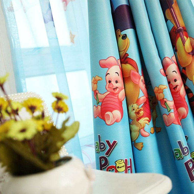 cortinas habitación infantil