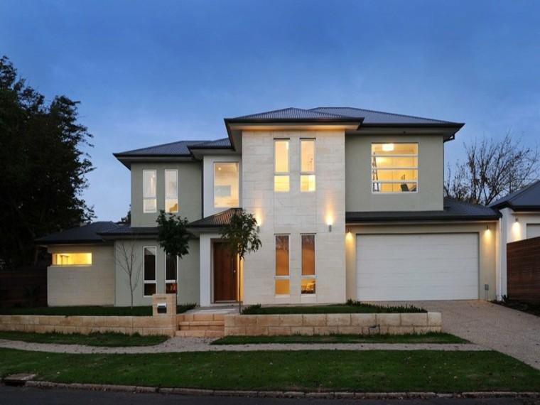bonita fachada casa