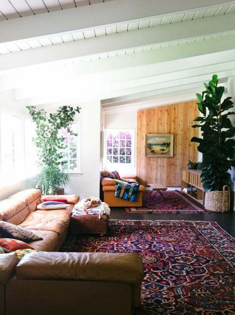 por lo tanto la sala de estar se convierte en un lugar esencial en la casa donde todos los miembros de la familia pasan la mayor parte de su tiempo - Interiorismo Salones