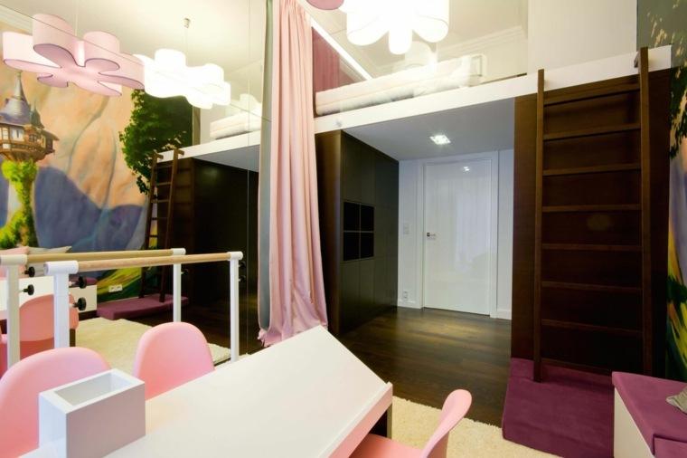 bonita habitacion infantil moderna