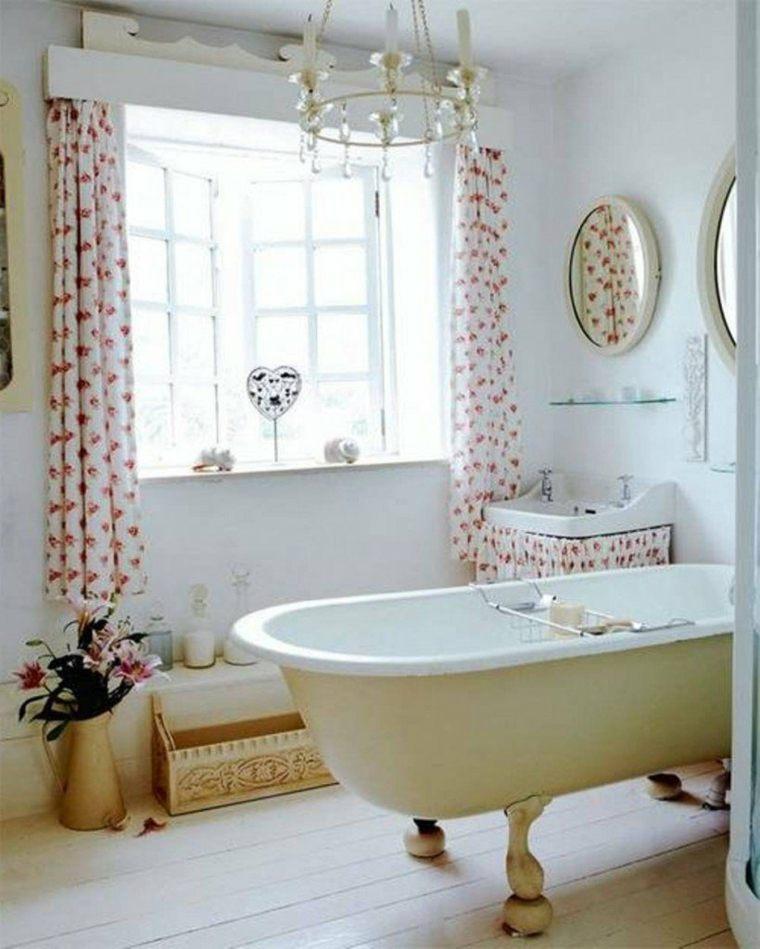 Cortinas para ventanas peque as 24 dise os estupendos - Store fenetre salle de bain ...