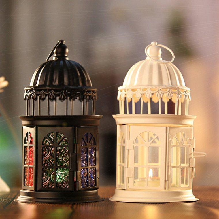 bonitas linternas decorativas cabinas