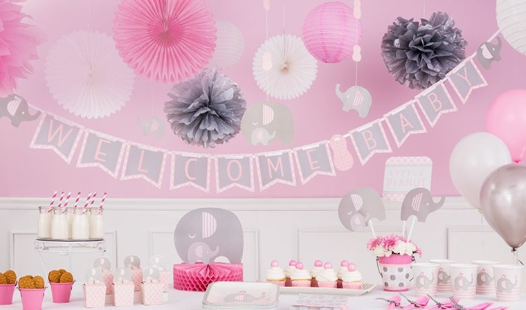Ideas De Decoracion Baby Shower Nina.Decoracion Baby Shower Nina 24 Ideas Estupendas
